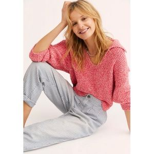 Free People Love This City Slouchy Sweater